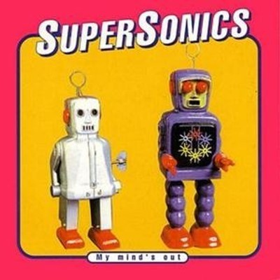 CD SUPERSONICS MY MIND'S OUT