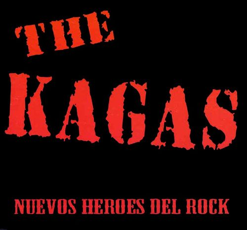 CD THE KAGAS NUEVOS HEROES DEL ROCK