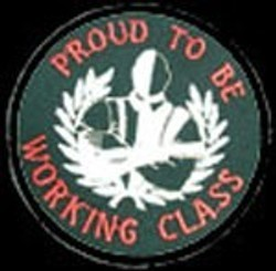 PARCHE PROUD TO BE WORKING CLASS