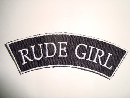 PARCHE RUDE GIRL TIRA