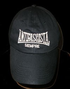 GORRA ANTIFASCISTA