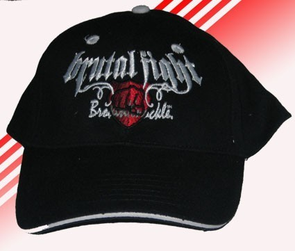 GORRA BROKEN KNUCLE BRUTAL FIGHT NEGRA