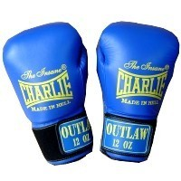 GUANTES BOXEO CHARLIE OUTLAW AZUL