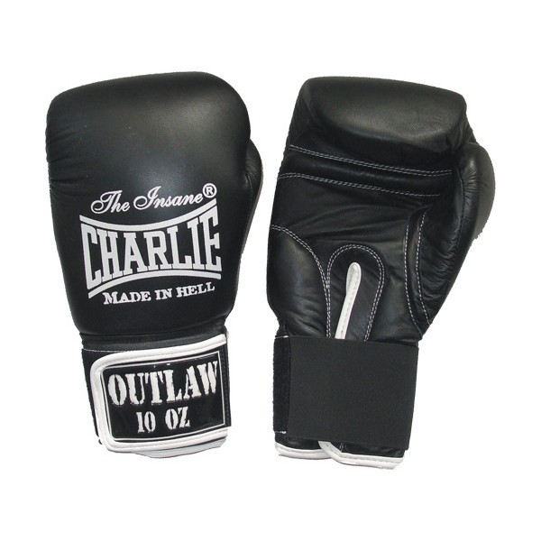 GUANTES BOXEO CHARLIE OUTLAW NEGRO