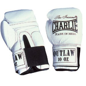 GUANTES BOXEO CHARLIE OUTLAW BLANCO