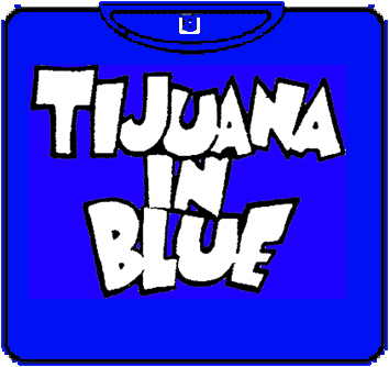 CAMISETA KAMILOSETAS TIJUANA IN BLUE CHICO