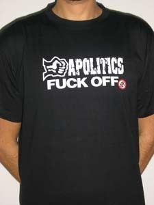 CAMISETA KAMILOSETAS APOLITICS CHICO