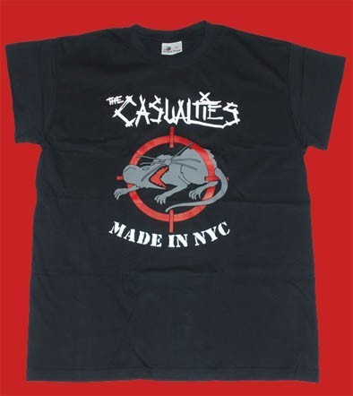 CAMISETA KAMILOSETAS CASUALTIES MADE IN NYC CHICO