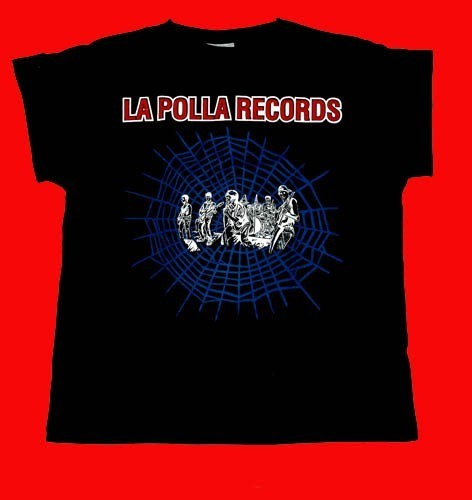 "CAMISETA LA POLLA RECORDS ""TELARAÑA"" CHICO"