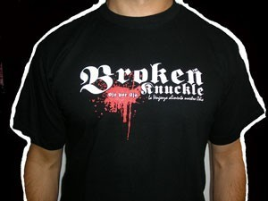 CAMISETA BROKEN KNUCKLE OJO POR OJO CHICO