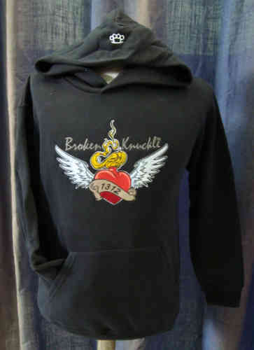 SUDADERA BROKEN KNUCKLE HEART