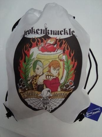 MOCHILA BROKEN KNUCLE DIENTES