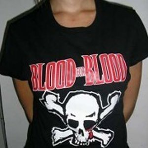 CAMISETA BLOOD FOR BLOOD CHICO