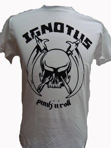 CAMISETA IGNOTUS BLANCA CHICO