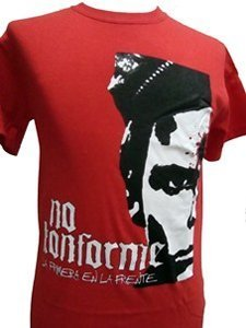 CAMISETA NO KONFORME ROJA CHICO