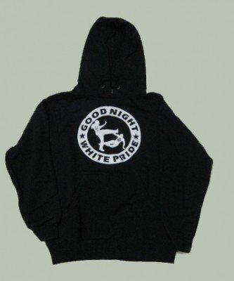 SUDADERA GOOD NIGHT WHITE PRIDE CON CAPUCHA