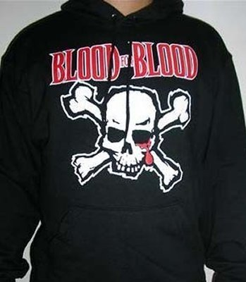 SUDADERA BLOOD FOR BLOOD CON CAPUCHA