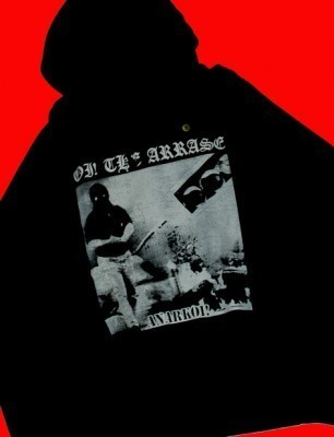 SUDADERA OI! THE ARRASE,ANARKOI!