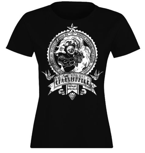 CAMISETA BROKEN KNUCKLE UNGOVERNABLE- CHICA