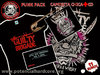 "CAMISETA CHICA + CD THE GUILTY BRIGADE ""POLVORA & WHISKY"""