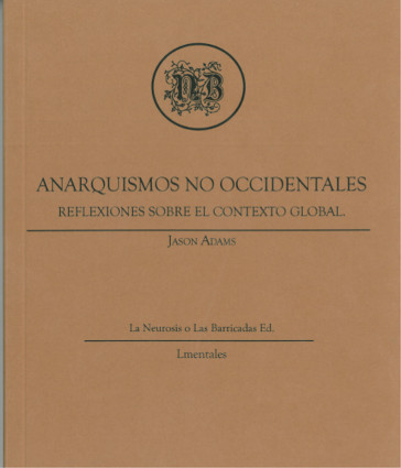 "LIBRO DE BOLSILLO ""ANARQUISMOS NO OCCIDENTALES"""