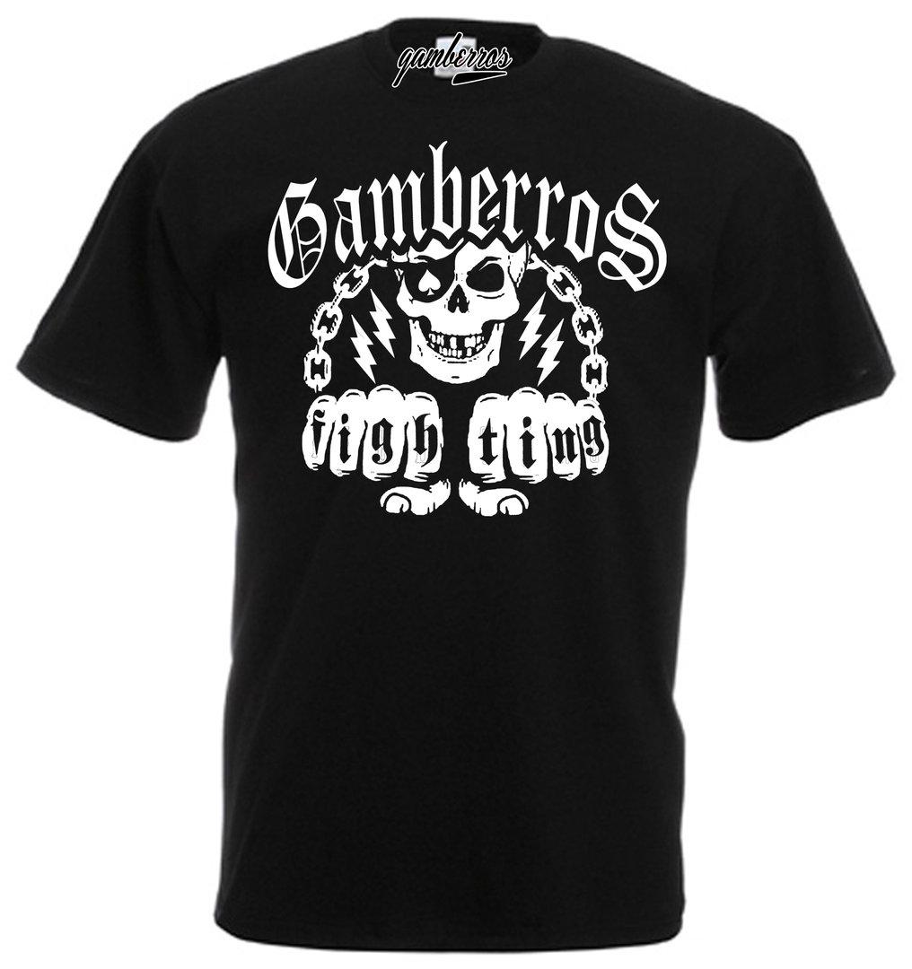 3946afd000 CAMISETA GAMBERROS FIGH TING - Potencial Hardcore