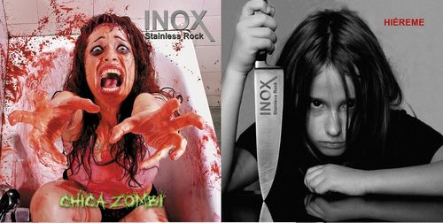 "PACK INOX ""HIEREME"" + ""CHICA ZOMBI"" (DOS CDS)"