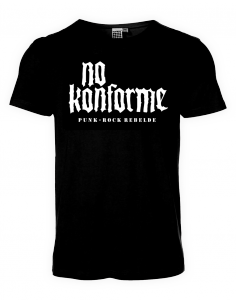 "CAMISETA NO KONFORME ""LOGO PUNK-ROCK"""