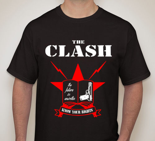 "CAMISETA THE CLASH ""KNOW YOUR RIGHTS"""