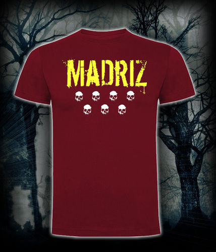 CAMISETA BLOODSHEDS MADRIZ GRANATE
