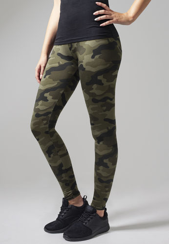 LEGGINGS CAMUFLAJE - WOOD
