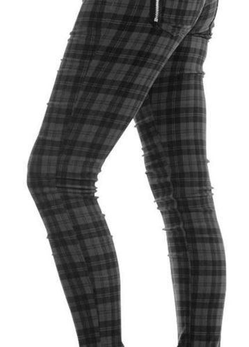 PANTALON ESCOCES GRIS