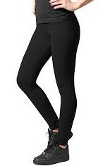 LEGGINGS NEGRAS LADIES JERSEY