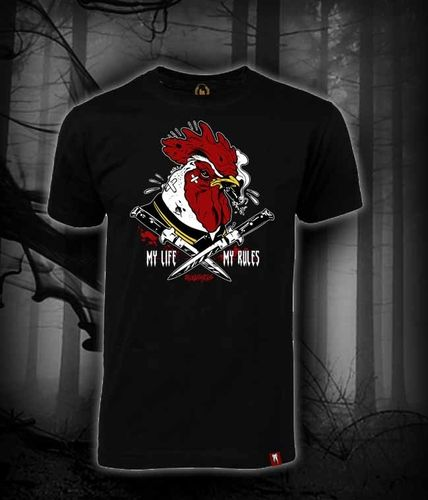 CAMISETA BLOODSHEDS GALLO