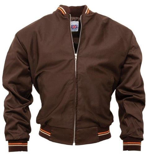 MONKEY COLLEGE JACKET MARRON